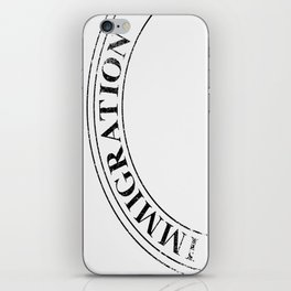 Immigration Stamp iPhone Skin
