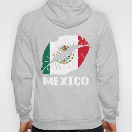 MEX Mexico Kiss Lips Tshirt Hoody