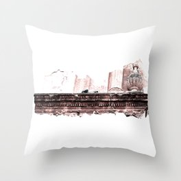 Doves Of Cordoba Throw Pillow