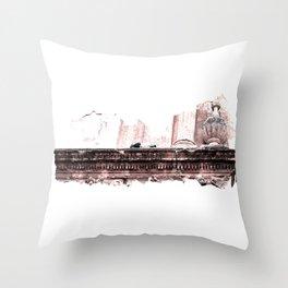 Doves Of Cordoba Throw Pillow