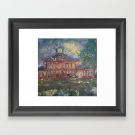 Old Main Framed Art Print