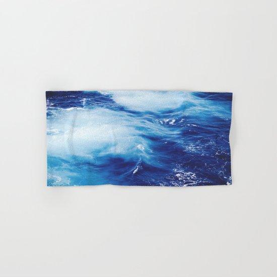 Deep Blue Ocean Hand & Bath Towel