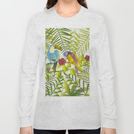 Tropical Paradise Pattern 1 Long Sleeve T-shirt