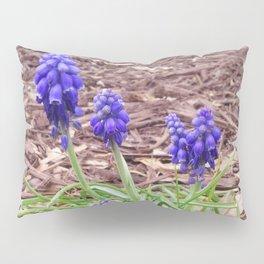 Grape Hyacinth Pillow Sham