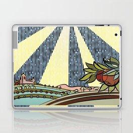 Autumn harvest illustration Laptop & iPad Skin