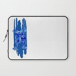TMNT Rock: Leo Laptop Sleeve