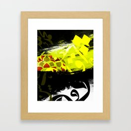 Arabic Calligraphy Abstract Framed Art Print