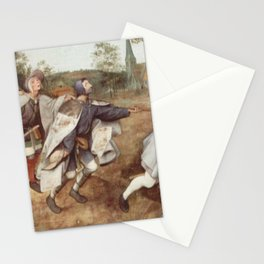 Pieter Brueghel the Elder - The Blind Leading the Blind Stationery Cards