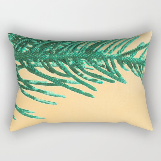 Emerald Pine Rectangular Pillow