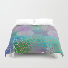 Floral Abstract Duvet Cover