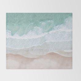Birds View Sea Throw Blanket