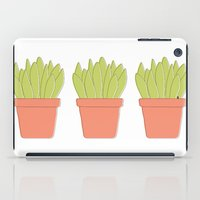 plant iPad Cases featuring Plant by Yellow Chair Design
