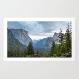 Tunnel View 2 Art Print