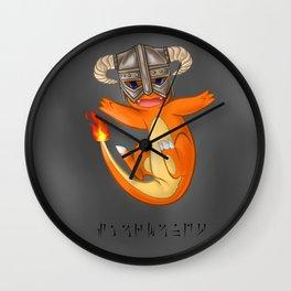 CHAR-MAN-DAAAAH!! Wall Clock