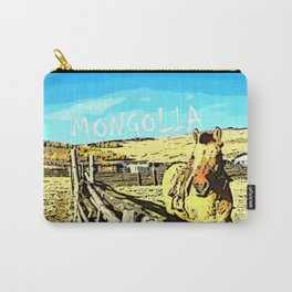 Mongolia Horse Treks (at Mountain Rubia) Carry-All Pouch