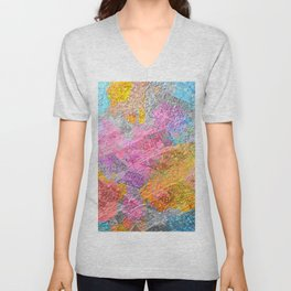 Abstract Colors 2 Unisex V-Neck