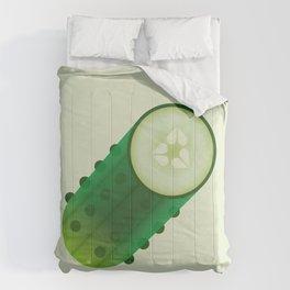 Cucumber half Comforters
