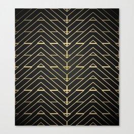 """3 Points Where 2 Lines Meet"" Canvas Print"