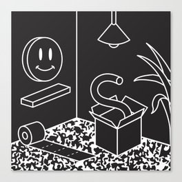 Objects In Room Canvas Print