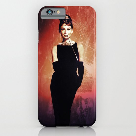 Audrey Hepburn vintage iPhone & iPod Case