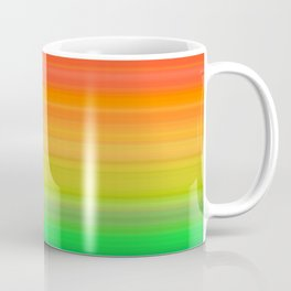 Bright Rainbow Stripes Coffee Mug