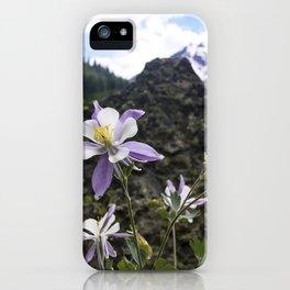 Colorado Columbine iPhone Case