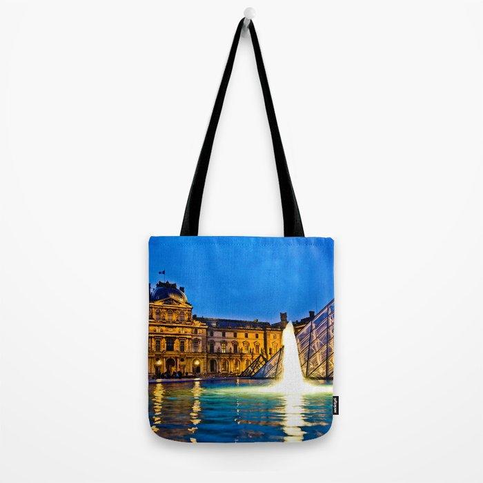 Palais du Louvre II Tote Bag