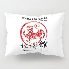 Shotokan Karate Tiger Pillow Sham