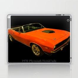 1970 Plymouth Hemicuda Convertible Laptop & iPad Skin