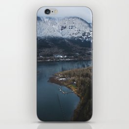 Dock in the Columbia River Gorge iPhone Skin
