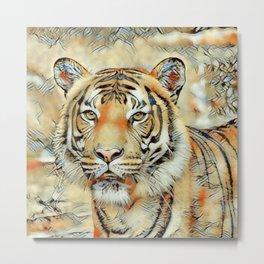 Animal ArtStudio -awesome Tiger Metal Print