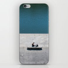 The reader and the river iPhone & iPod Skin
