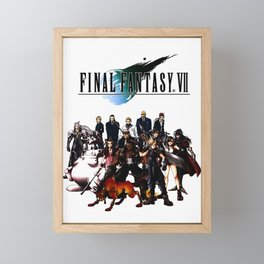 FINAL FANTASY VII Framed Mini Art Print