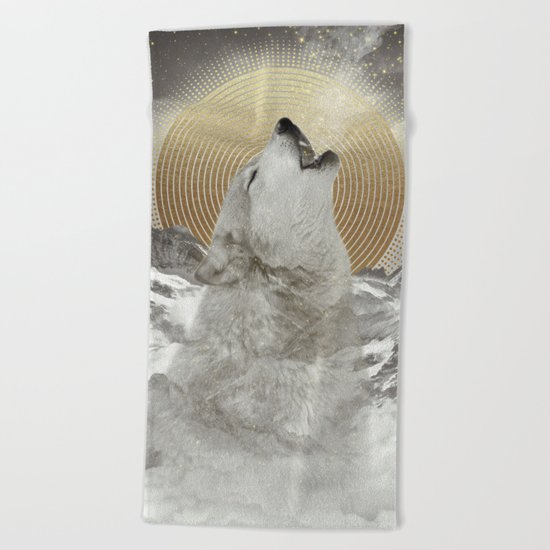 Turn Your Face To The Sun Beach Towel