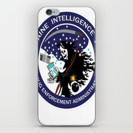 DEA Cocaine Intelligence Unit iPhone Skin