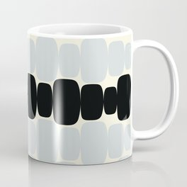 Abstraction_Balance_ROCKS_BLACK_WHITE_Minimalism_001 Coffee Mug