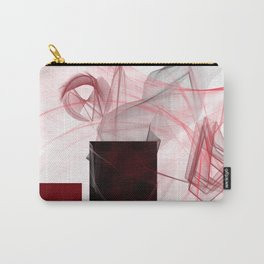abstract geometric digital painting Carry-All Pouch