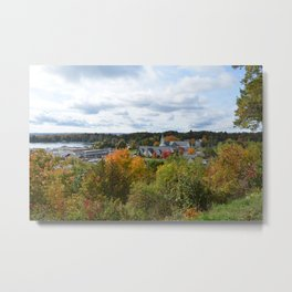 Harbor Springs Bay- View from Bluff(3) Metal Print