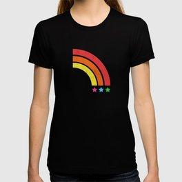 Grunge Rainbow | Digital Art T-shirt