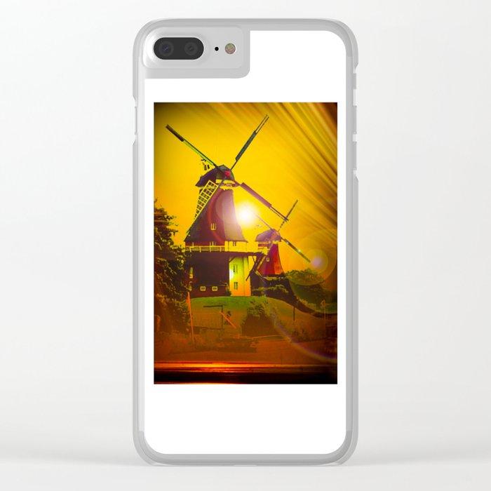Greetsiel  Zwillingsmühlen Clear iPhone Case