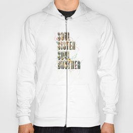 Soul Sister   Soul Brother - illustrations - Cover Hoody