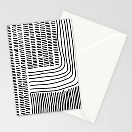 Digital Stitches thick white Stationery Cards