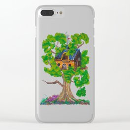 Treehouse III Clear iPhone Case