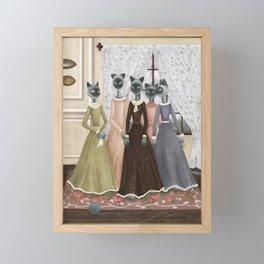 Bennet Sisters Framed Mini Art Print