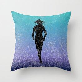 Deluge Dash Throw Pillow
