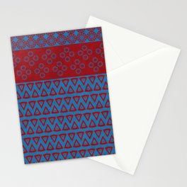 Japanese Style Bohemian Pattern Stationery Cards