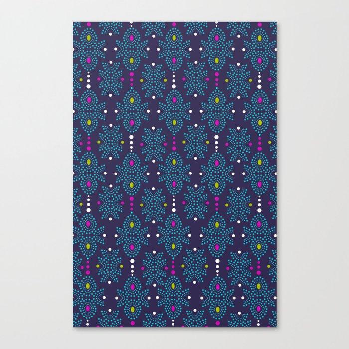 Stella Pattern Canvas Print