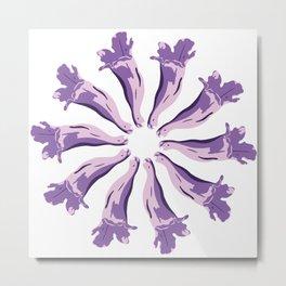 Jacaranda´s Flowers Metal Print