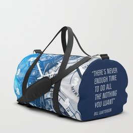 Time - 30's Philosophy Duffle Bag