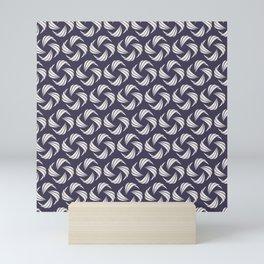 SwirlyWhirly (Patterns Please) Mini Art Print